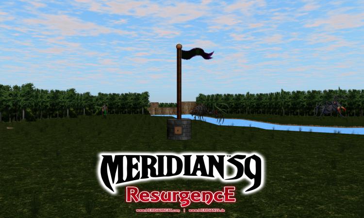 Meridian 59 Flagpole