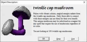Twinkle cap mushroom
